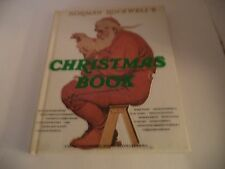 Vintage Embossed Norman Rockwell's Christmas Book 1977 Illustrated w/ Dust Cover