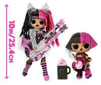 LoL Surprise OMG METAL CHICK + BABY SUPER REMIX CANDYLICIOUS SNOWLICIOUS CRYSTAL
