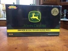 NIB Genesis 2003 John Deere HO Scale  Precision Railroad Train Set