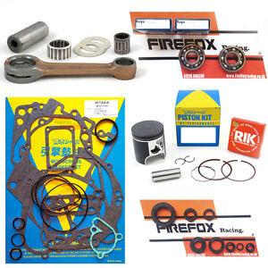 Kawasaki KX125 1995 - 1997 Engine Rebuild Kit Inc Rod Gaskets Piston Seals (B)