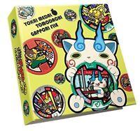 New Yo-Kai Yokai Watch Youkai medal Friend Komasan Binder Holder File Book F/S