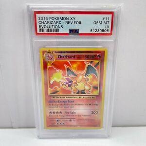 Pokemon Card 2016 Evolutions X Y Charizard Reverse Foil 11/108 PSA 10 GEM MINT 2
