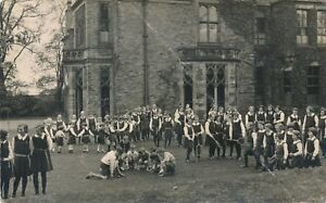 RP postcard convent of the nativity Harrytown High school Romiley circa 1950 A1