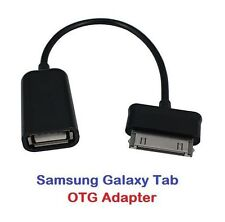 USB Host OTG Adapter Cable for Samsung Galaxy Tab 7/8.9/10.1 P7510 P7500 N8000