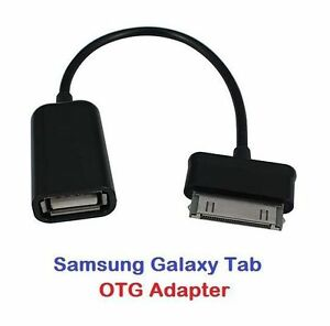 30 Pin to USB Female Adapter Cable OTG For Samsung Galaxy Tab 2 10.1 Tablet PC