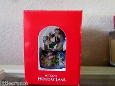 Christmas Decoration Ornamental Musical (Toyland) Snowglobe Macy'S Holiday Lane