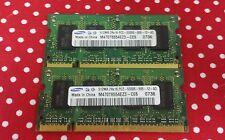 1 GB (2x512MB) Samsung 2Rx16 PC2-5300S-555-12-A3 M470T6554EZ3-CE6 Laptop MATCHED