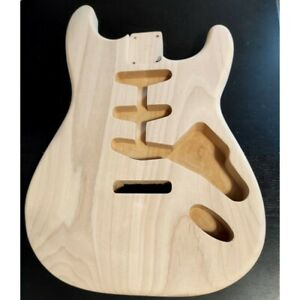 Corps en Aulne Style Stratocaster 2 pièces Non ponce