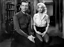 PHOTO LE MILLIARDAIRE - YVES MONTAND & MARILYN MONROE-- 11X15 CM #6