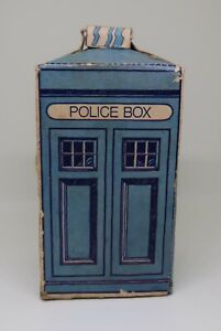 Original Classic Doctor Dr Who Weetabix Cereal 1975 Cut Out Tardis