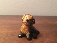 Wade England Porcelain Whimsies Figurine 155-3: Mongrel Puppy Dog (Red Rose Tea)