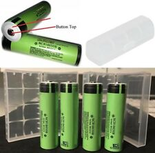 PANASONIC 3400mAh NCR18650B Button Top Battery For Door Bell & Torch ( FREE CASE