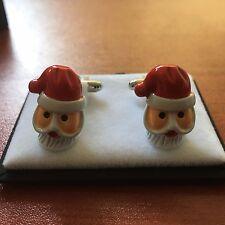 Equilibrium Father Christmas Men's CuffLinks