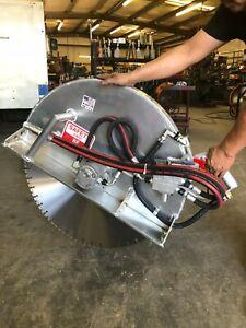 """Hydraulic Concrete Cutting Saw - 30"""""""