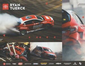 2021 Ryan Tuerck Gumout Toyota Corolla Hatchback Formula Drift Hero Card