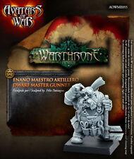 Avatars of War: Dwarf Master Gunner - AOW55 -Warhammer Dwarves