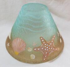 Yankee Candle DECAL STARFISH Jar Shade 1544565 Ocean Medium Large Jar Brown Blue