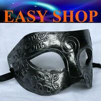 Men Women Silver Costume Masquerade Cosplay Party Mask Venetian Ball Roman Eye