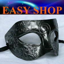 Men Women Silver Costume Masquerade Cosplay Party Mask Venetian Ball Roman Eye