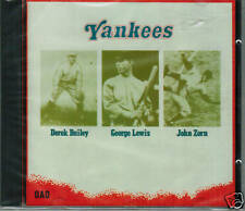 John Zorn*George Lewis*Derek Bailey YANKEES Rare oop CD