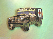 MILITARY  Ambulance   - hat pin , lapel pin , hatpin , badge , tie tac GIFT BOXD