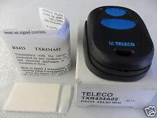 TELECO TXR 434 A02 RADIOCOMANDO MINI HANDSENDER RS 433,92 AM Mhz Wireless CE0499