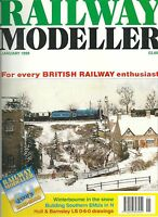Railway modeller magazine January 1999