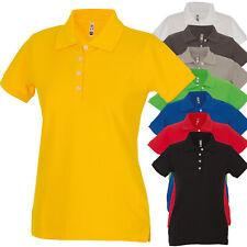 Polo Da Lavoro Donna T-Shirt Con Colletto Cotone Piquet JRC San Francisco Lady