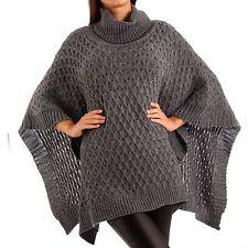bc6b200375a4ef Damen Ponchos ohne Muster günstig kaufen | eBay