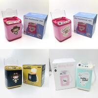 US Makeup Brush Sponge Blender Washing Machine Girl Kid Toy Cleaner Mini Washer