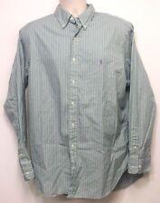 Ralph Lauren Classic Fit Green & Purple Stripe Dress Shirt w/ Pony 17 - 34/35