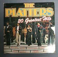 The Platters 20 Greatest Hits LP Funk Soul Record Rhythm & Blues R&B Vinyl - EX