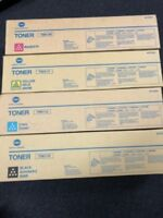 NEW Konica Minolta Genuine TN611 Colour Toner TN611C,TN611M,TN611Y Variations