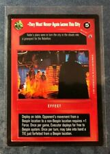 Star Wars CCG Theed Palace 3B3-21 NrMint-MINT SWCCG