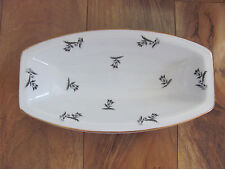 Rosenthal Selb Bavaria-Scattered Gray/Black Tulips-Relish Tray(s)-Up to 2 Avail