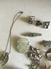 antique sterling silver mixed lots