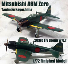 WWII A6M Type Zero 203rd Tanimizu Kagoshima 1945 1/72 finished plane Easy model