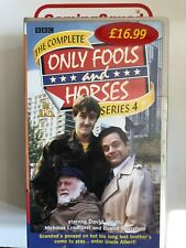 Only Fools and Horses Series 4 VHS Video Retro, Supplied by Gaming Squad