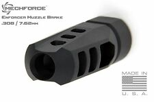 Mechforce Enforcer Muzzle Brake 5/8-24 TPI 308 / 7.62mm with 4 VT Crush Washers