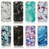 Granite Marble Rock Pattern Ultra Thin TPU Case Cover for iPhone 5 6 6s Plus SE