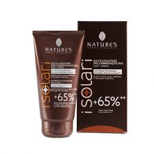 Acceleratore Abbronzatura +65% - NATURE'S _ crema solare viso e corpo protezione