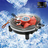 2200rpm CPU Quiet Fan Cooler Cooling Heatsink For Intel LGA775/1155 AMD AM2/3