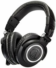 Audio-Technica ATH-M50x Over-Ear Professional Studio Monitor Headphone (Black)