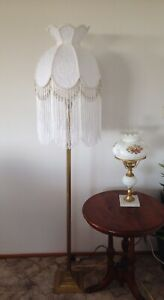 STUNNING NEW HAND CRAFTED LACE  SHADE FOR FLOOR LAMP*store Will Be Closing Soon*