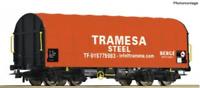 Roco 76439 HO Gauge Tramesa Shimmns Sliding Tarpaulin Wagon VI