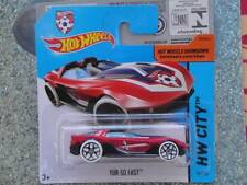 Hot Wheels 2014 # 012/250 Yur so Fast Rojo/Blanco Lote P Croacia Fútbol