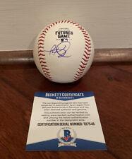 Jarred Kelenic Autographed 2019 Futures Game Baseball Mariners Beckett COA