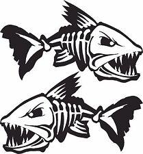 LARGE 1mt Bone Fish Custom Boat Sticker JetSki Fishing Ally Craft Haines Sea-ray