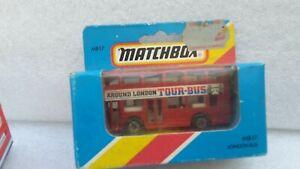 MATCHBOX SUPERFAST REF MB 17 LONDON BUS ROUGE TOUR BUS NEUF EN BOITE