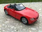 BMW Z4 cabriolet rouge kinsmart Jouet miniature 1/32 echelle Voiture cadeau